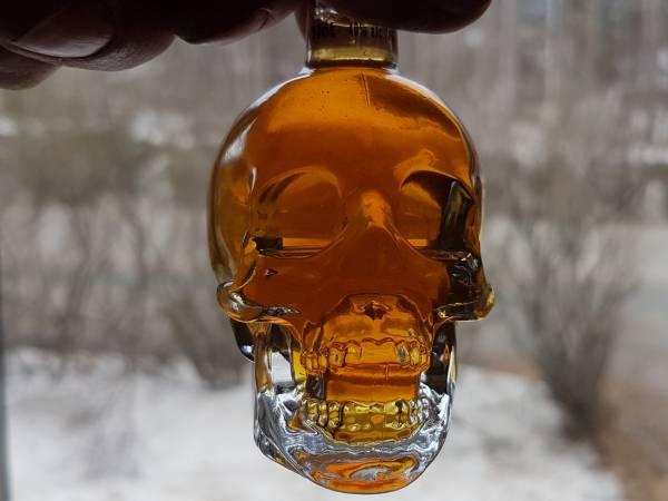 Skull syrup