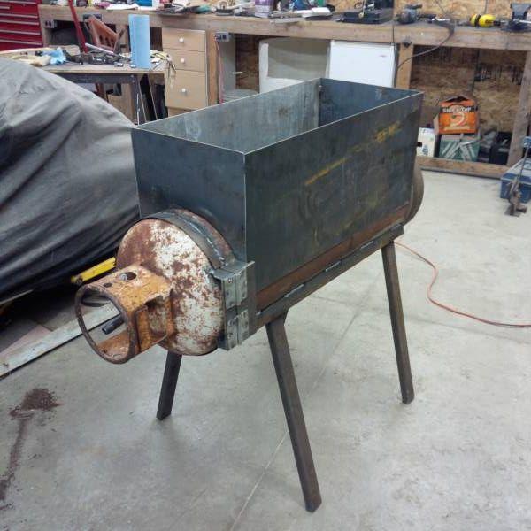 100lb Propane Tank Turned Into Hobby Evaporator