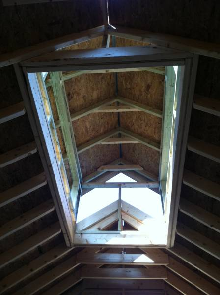 The Outdoors Trader >> cupola - interior - Maple Gallery