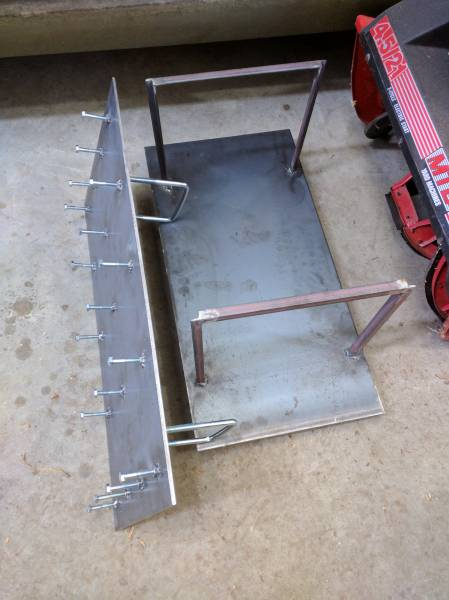 blocker plates to run a 2x2 pan
